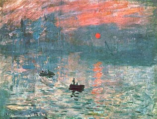 Monet - Impression du Soleil Levant (1873)