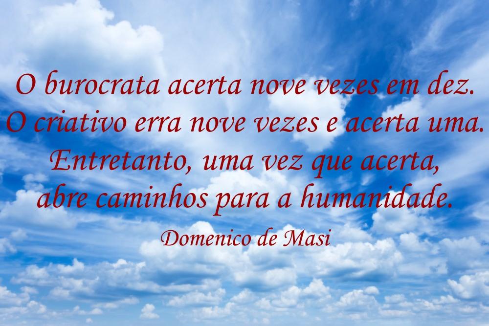 Citação - Domenico de Masi