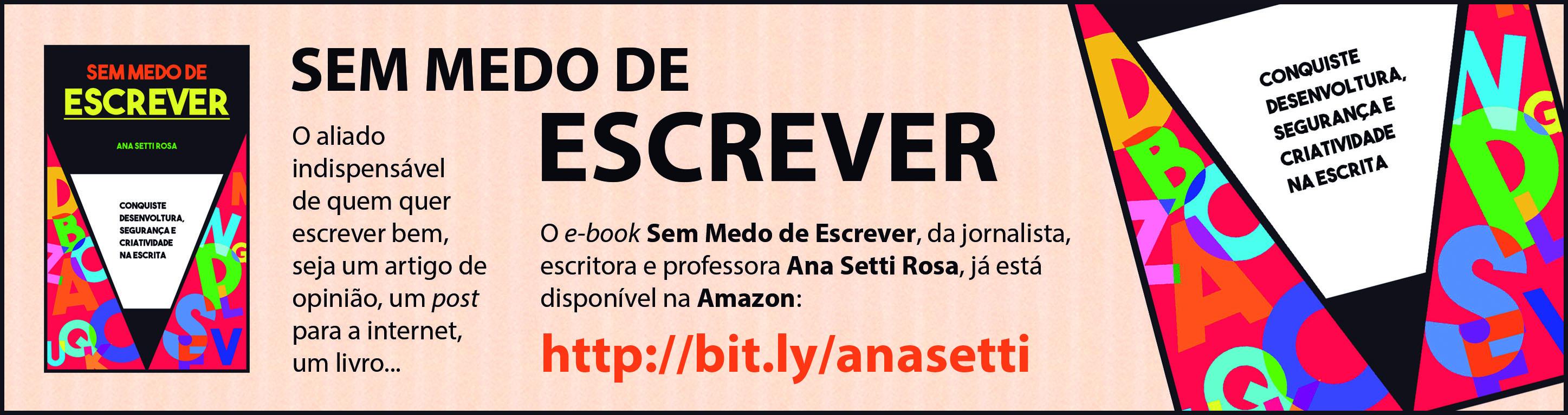 Anúncio Sem Medo de Escrever (Jornal da Gleba)